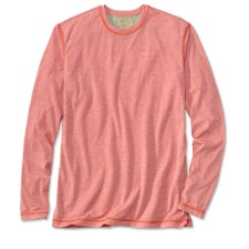 Orvis Drirelease Casting Crewneck Longsleeve Shirt Weathered Red