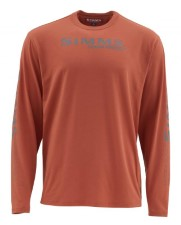 Simms Tech Tee Simms Orange