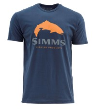 Simms Trout Logo Dark Moon