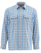 Simms Legend Shirt Harbour Blue Plaid