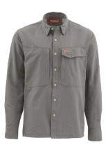 Simms Guide Shirt Solid Pewter