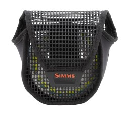 Simms Mesh Reel Pouch Black Large