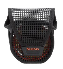 Simms Mesh Reel Pouch Black Medium