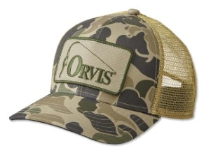 Orvis Retro Trucker Ball Cap Camo