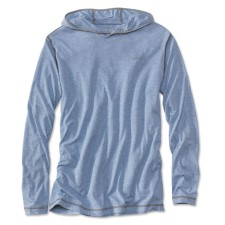 Orvis Drirelease Pullover Hoodie Bleached Blue
