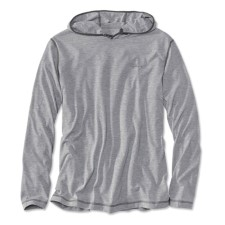 Orvis Drirelease Pullover Hoodie Heather Grey