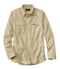 Orvis Clearwater Shirt Khaki