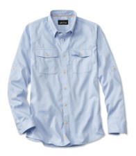 Orvis Clearwater Shirt Light Blue