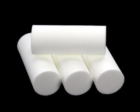 Sybai Foam Popper Cylinders 18mm White
