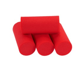 Sybai Foam Popper Cylinders 18mm Red