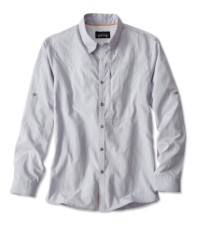 Orvis Cheyenne Long Sleeve Shirt Blue