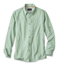Orvis Cheyenne Long Sleeve Shirt Green