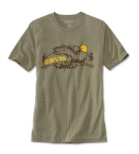 Orvis Camp T-Shirt Sage Heather