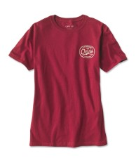 Orvis Label Red T-Shirt