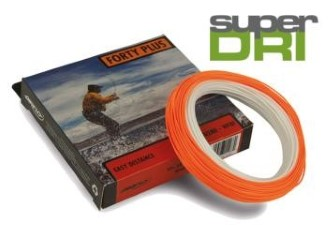 Airflo Super Dri 40+ Extreme WF Floating Ivory/Sunrise Fly Line