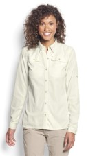 Orvis Womens Open Air Caster Shirt White