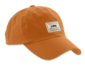 Orvis Vintage Waxed Ball Cap Burnt Orange