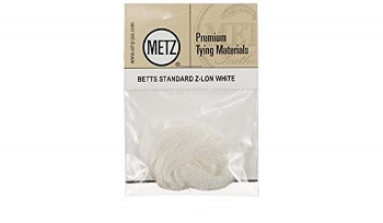 Umpqua Betts Standard Z-Lon Parachute Fibers White