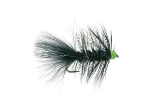Umpqua Hot Bead Bugger Black/Orange #8