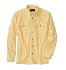 Orvis Open Air Caster Shirt Long Sleeve Light Yellow
