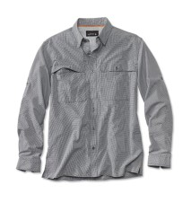 Orvis Open Air Caster Shirt Long Sleeve Navy