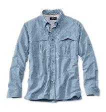 Orvis Open Air Caster Shirt Long Sleeve Sky Blue