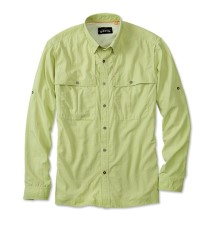 Orvis Open Air Caster Shirt Long Sleeve Lemon Lime