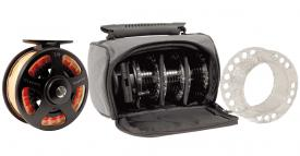Airflo Classic Cassette Reel Incl 4 Spools And Bag