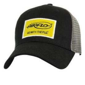 Airflo Trucker Cap Black Yellow