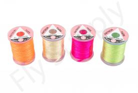 Antron yarn fluo on spools
