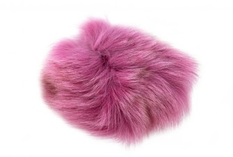 Arctic Fox Fur Shadow Pink