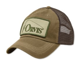 Orvis Bent Rod Waxed Trucker Sandstone