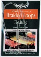Airflo Braided Loops With Fitted Sleeve Trout 3pc