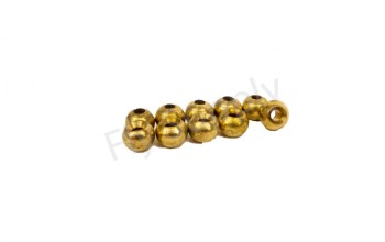 Brass Gold Beads 10pc