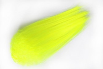 Hedron Big Fly Fibre Curled Fluo Yellow