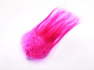 Hedron Big Fly Fibre Curled Pink/Purple