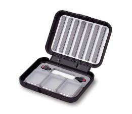 C&F 7-Row Small Fly Case With Ultra Midge Size Threaders - CF-203