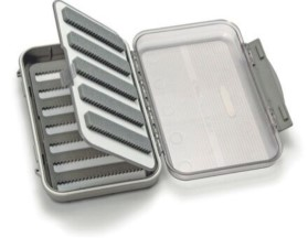 C&F Medium 7-Row Waterproof Fly Case With Two-Sided Flip Page - CF-25577CT