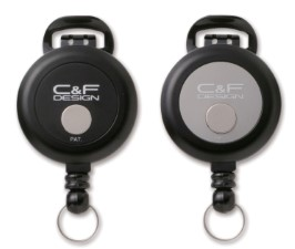 C&F Flex Pin-On Reel Silver - CFA-72-SV