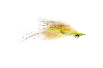 Fulling Mill Foxy Clouser Chartreuse #6
