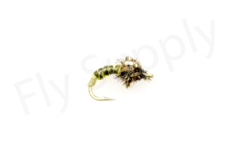 Chironomid Pupa Green #18