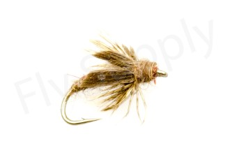 Brown Caddis Pupa #14