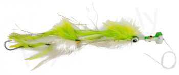 Cam Sigler's Sailfish Popper Chartreuse/White With Complete Rig