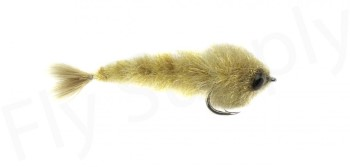 Chocklett's Micro Finesse Changer Streamer Tan 4,5cm
