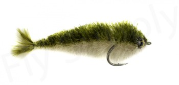 Chocklett's Mini Finesse Changer Streamer Tan & Olive 7cm