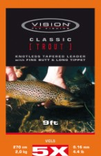 Vision Classic Trout 9ft Leader