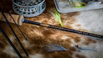 TFO Clouser Series Fly Rod 4pc