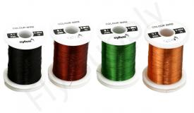 Colour Wire 0.1mm On Spool