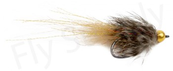 Custom Brenda Streamer Natural - Complete Tying Kit - Fly Supply TV