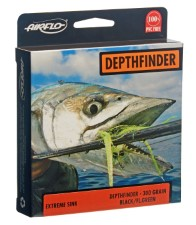 Airflo Ridged Depth Finder 30ft Sinking Head With Floating Running Fly Line